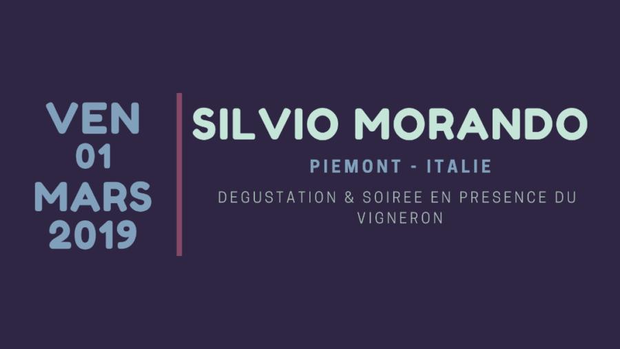 Dégustation & Soirée avec Silvio Morando